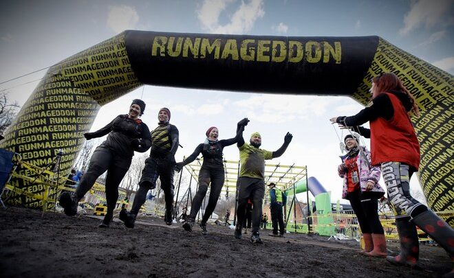 Pierwszy event w 2021, czyli Zimowy Runmageddon w Garnizonie Modlin