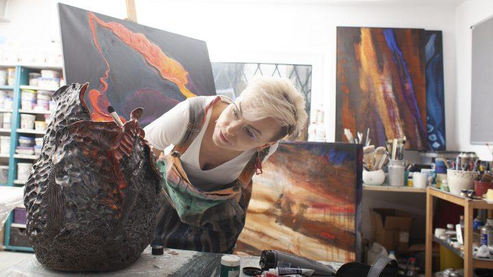 Station of Art Gallery zaprasza 22 lipca na wystawę Joanny Roszkowskiej