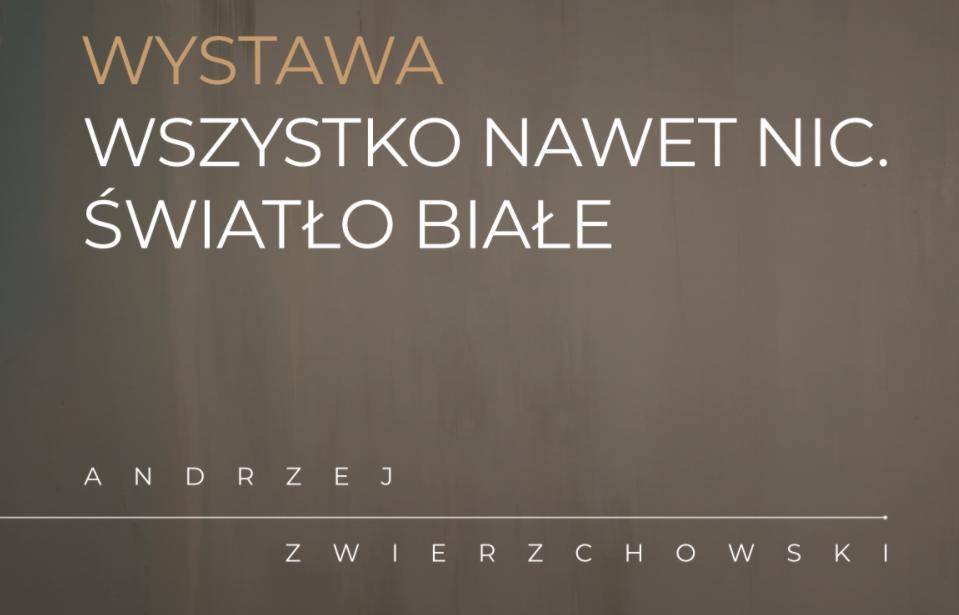 WWernisaż wystawy Andrzeja Zwierzchowskiego w Warszawie